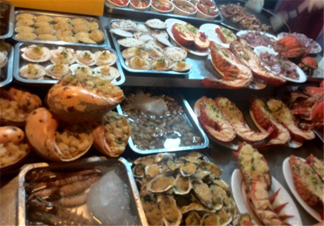 台湾小吃街美食